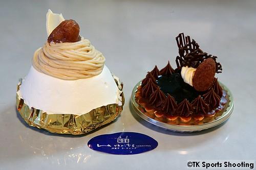 ラ・ヴェリテYAMAHANAのケーキ