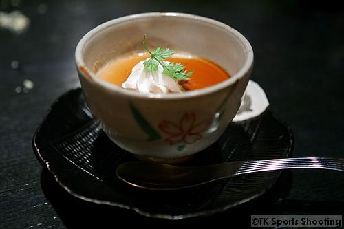 黒糖杏仁豆腐