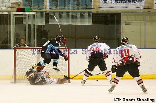 日本アイスホッケーリーグ・ノース・ディヴィジョン 札幌ポラリス vs タダノアイスホッケーチーム