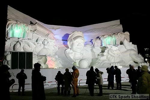 大雪像 ドリーム藍ランド OKINAWA(4丁目 よみうり広場)