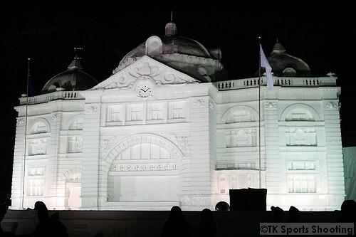 大雪像 フリンダース・ストリート駅(オーストラリア) (7丁目 HBCオーストラリア広場 )