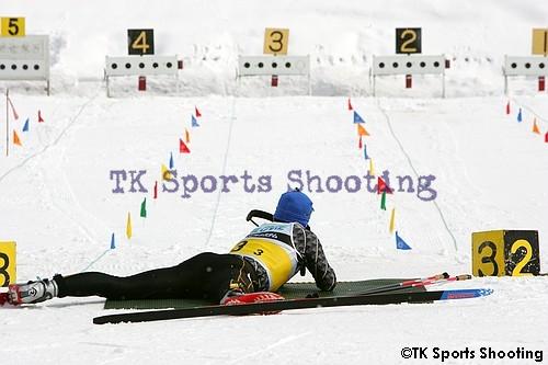 宮様スキー バイアスロン 競技銃 伏射