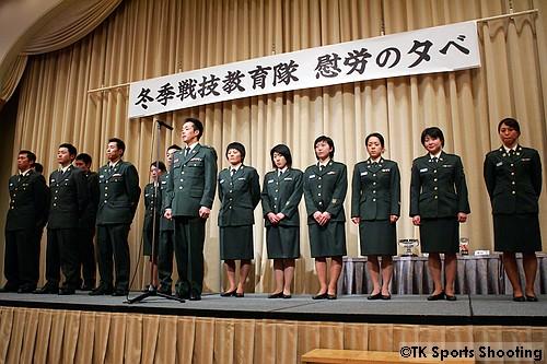 冬季戦技教育隊慰労の夕べ