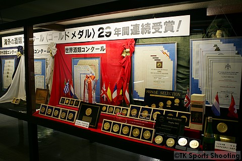 男山酒造り資料館 2階資料室