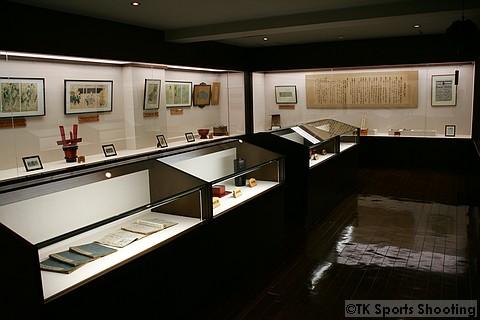 男山酒造り資料館 2階江戸時代の資料室