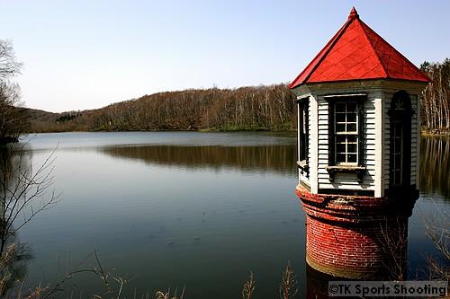 西岡水源池 取水塔