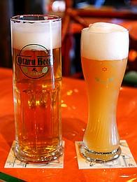 小樽ビール ヘレスとヴァイス