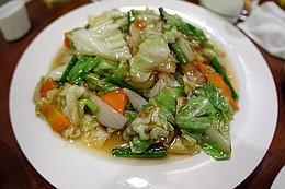 豚肉と野菜の炒めもの