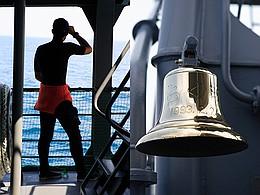 潜水要員、鐘