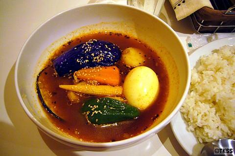 鶏ムネ野菜カレー