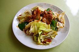 回鍋肉:キャベツと豚肉の味噌炒め