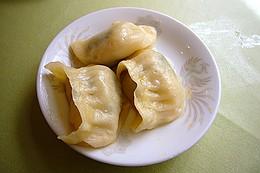 蒸餃子:ニラ入り蒸餃子