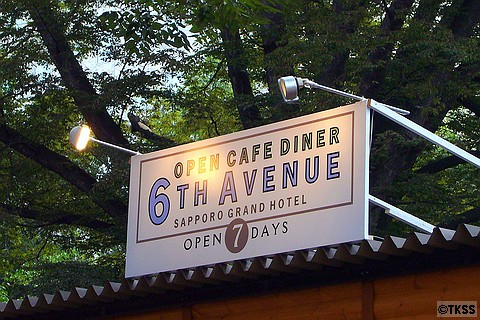 OPEN CAFE DINER 6TH AVENUE