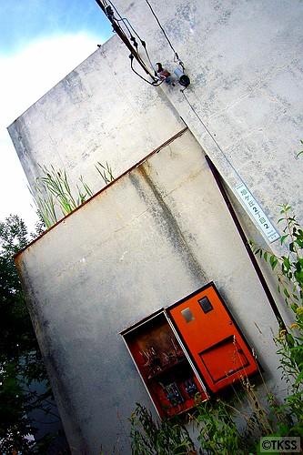 旭丘の廃アパート