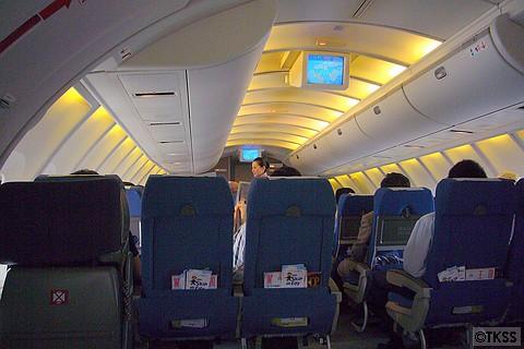 747 2階席