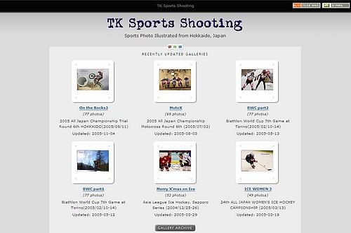 TK Sports Shooting ニューバージョン