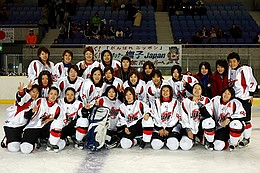 4Nations Cup 2006 2位 日本