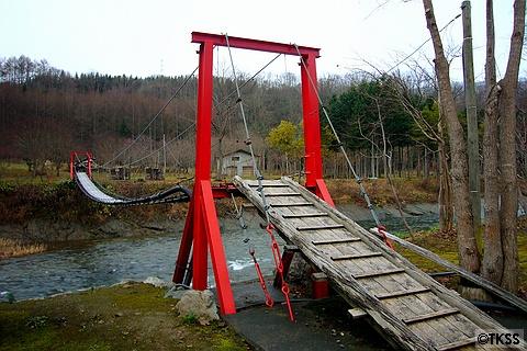銀婚湯 つり橋