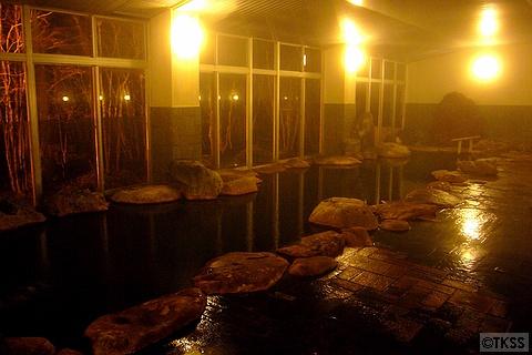 大浴場「渓流の湯」