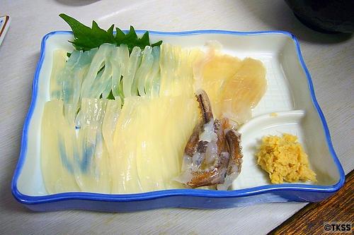 イカ刺 道南食堂