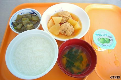 入院6日目の昼食