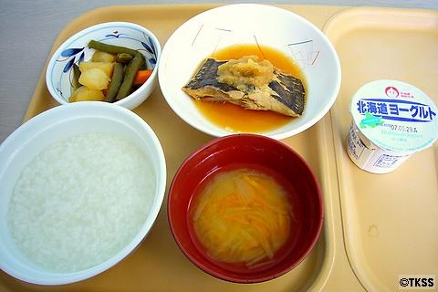 入院6日目の夕食