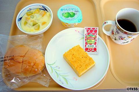 入院10日目の昼食