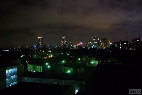 札幌駅方面の夜景
