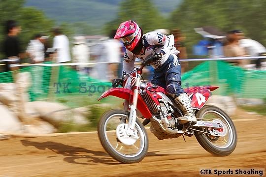 増田一将(2007全日本モトクロス選手権シリーズ第6戦 北海道大会 IA1-2)