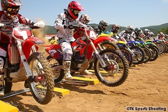 2007全日本モトクロス選手権シリーズ第6戦 北海道大会 IA1ヒートⅠSTART
