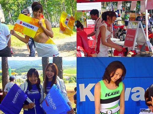 レースクイーン (2007全日本モトクロス選手権シリーズ第6戦 北海道大会)