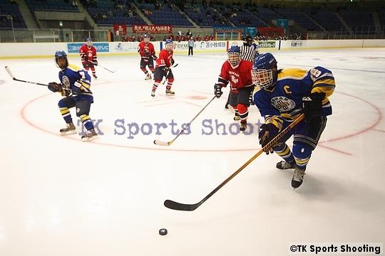 第2回全国高等学校選抜アイスホッケー大会3位決定戦 白樺学園 vs 釧路江南