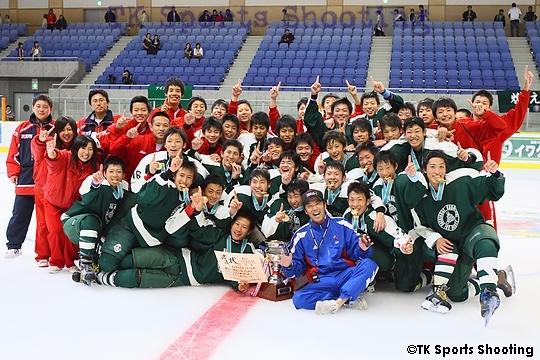 優勝:八戸工業大学第一高等学校