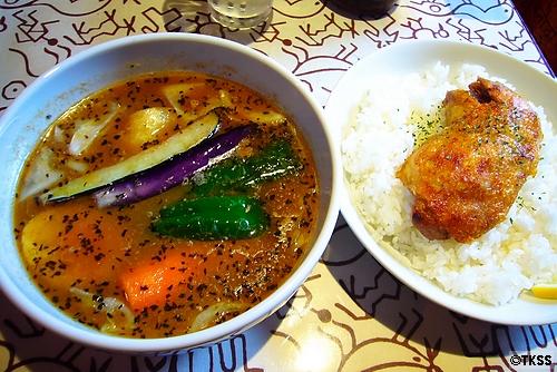 チキンカリー soup curry shop CHUTTA! 平岸店