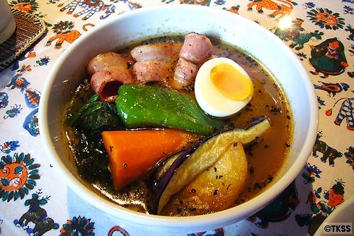 ベーコン&ホウレン草カリー soup curry shop CHUTTA! 平岸店