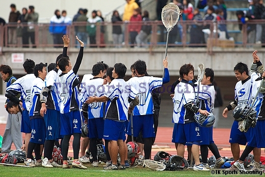 第13回北海道ラクロスリーグ戦 男子決勝