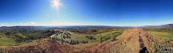 坊主山からの360度パノラマ