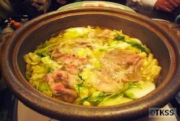 鍋物:春夏冬来鍋(旨だし地養豚の鍋)