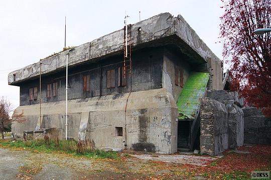 北部軍司令部防空指揮所