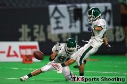 北海道大学ビッググリーン vs 東北大学ホーネッツ (第22回アメリカンフットボール北日本大学王座決定戦)