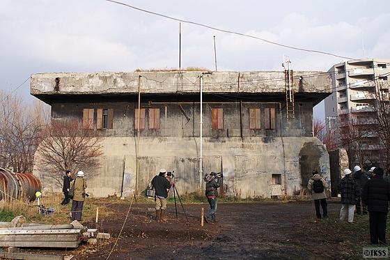 国有未利用建物(旧陸上自衛隊月寒送信所)の公開