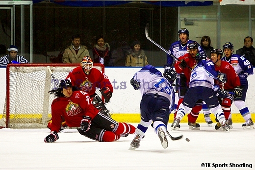 ASIA LEAGUE ICE HOCKEY2007-2008 X'mas Games in SAPPORO 2日目