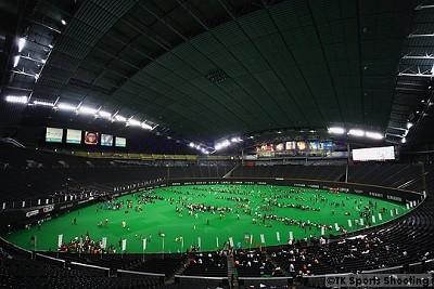 サッカーキッズ 札幌ドーム