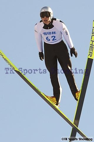 第49回 雪印杯全日本ジャンプ大会 少年組1位:伊藤謙司郎