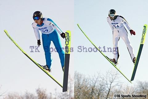 第49回 雪印杯全日本ジャンプ大会 少年組2位:作山憲斗、3位:細田将太郎