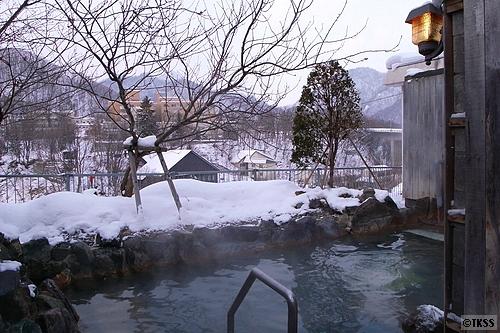 ホテル山水 露天風呂