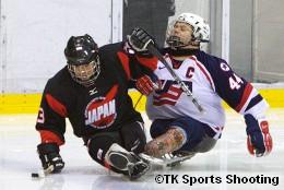 2008 ジャパンパラリンピック アイススレッジホッケー競技大会 3位決定戦(日本 vs 米国)