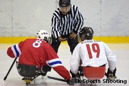 2008 ジャパンパラリンピック アイススレッジホッケー競技大会 決勝戦(カナダ vs ノルウェー)