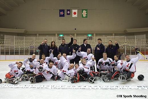 2008 ジャパンパラリンピック アイススレッジホッケー競技大会 優勝(カナダ)
