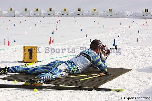 第79回宮様スキー大会国際競技会バイアスロン競技2日目